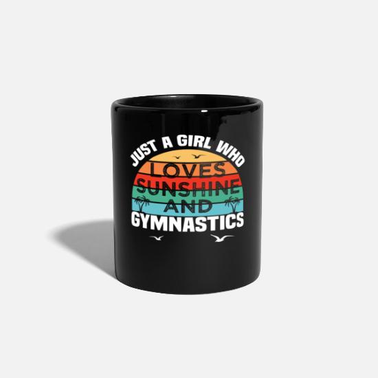 Gymnastic Mugs & Drinkware - do gymnastics - Mug black