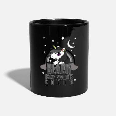 Party Einhorn Black - Tasse