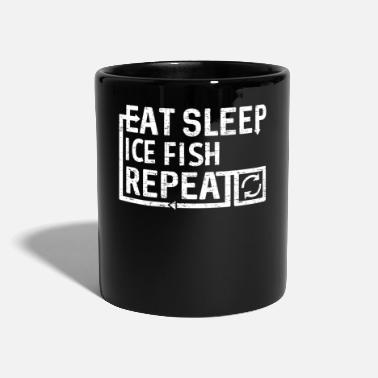 Eat Sleep Ice Fish - Mug