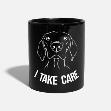 Hundefan Chien chien chiot attention - Mug