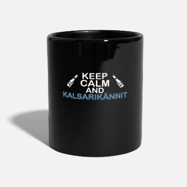Calm Underwear keep calm and Kalsarikännit - Mug