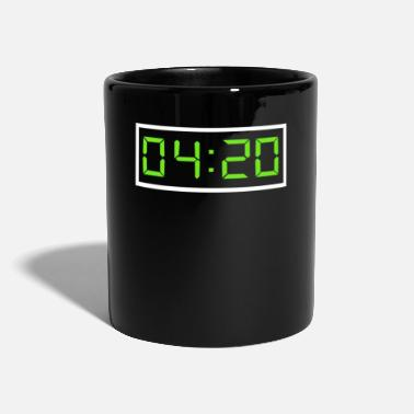 420 Oclock Oh already 420 o'clock Cannabis Marley Trend Style - Mug