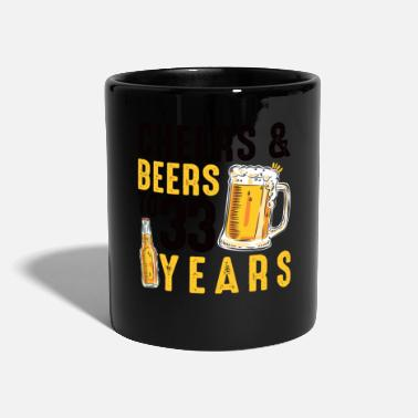Cheers 33rd Birthday Gifts Drinking Shirt for Men or - Mug