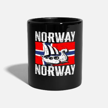 Journey Norway Viking ship fishing trip - Mug