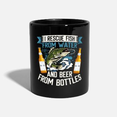 Pregnancy I Rescue Fish From Water And Beer From Bottles - Mug