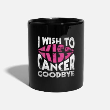 Cancer Sucks Love against breast cancer - Mug