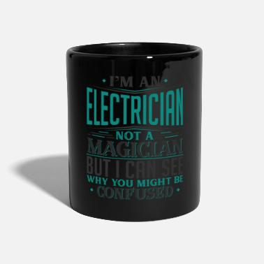 Boss I'm A Electrician Not A Magician But I can See - Mug