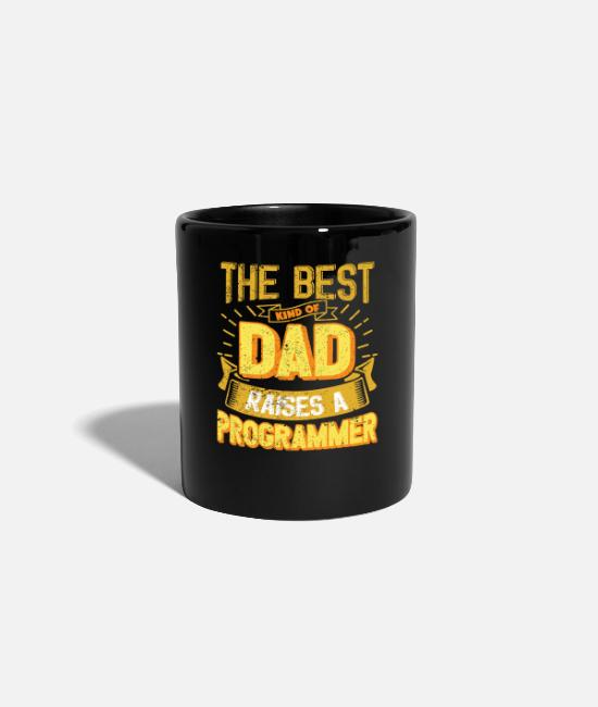 Father's Day Mugs & Drinkware - This Great Gifts For Dad From Daughter - The Best - Mug black