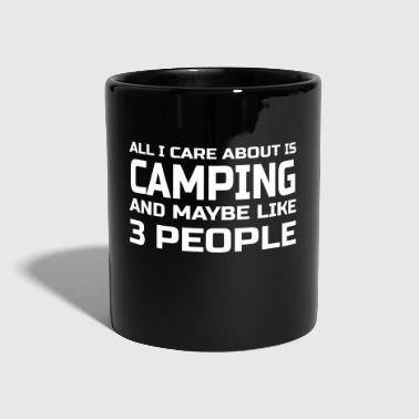 Care about Camping - Tasse einfarbig