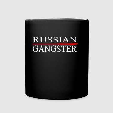 Russian Gangster - Taza de un color