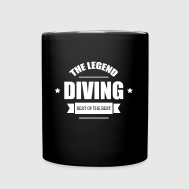 Diving The Legend - Taza de un color