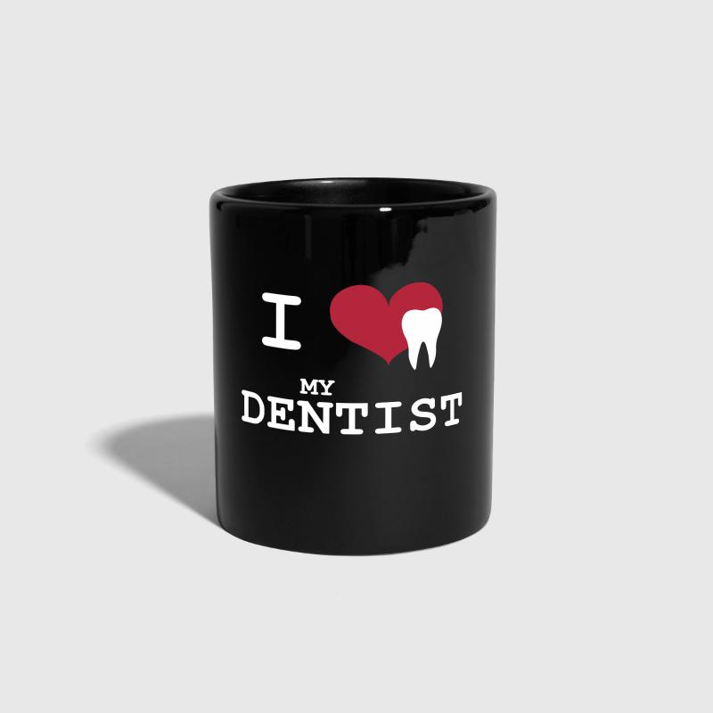 I Love my Dentist - Taza de un color