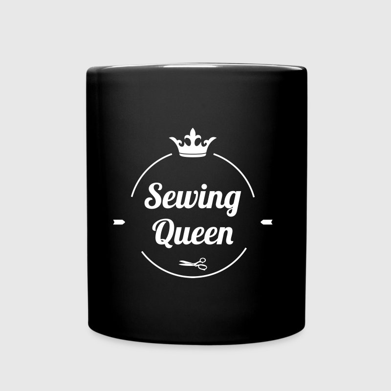 Sewing Queen - Enfärgad mugg