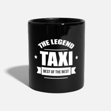 Taxi Taxi, the legend - Ensfarvet krus