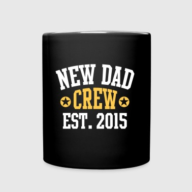 NEW DAD CREW Established 2015 2 Color - Full Colour Mug
