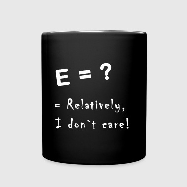 relatively i don`t care - Enfärgad mugg