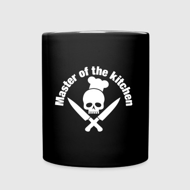 Master of the kitchen / Skull / Cook - Full Colour Mug