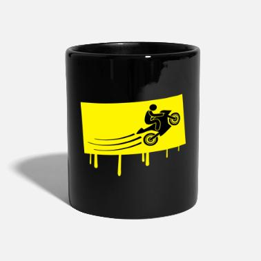 Icon moto conducteur symbole - Mug