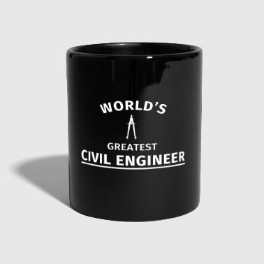 World's greatest civil engineer - Full Colour Mug
