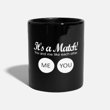 Match It's a match! - Full Colour Mug