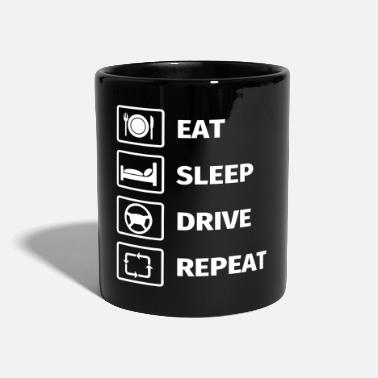 Taxi Driver EAT SLEEP DRIVE REPEAT - Mug