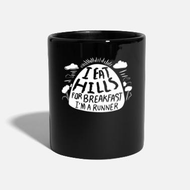 Ultras I Eat Hills Before Breakfast Runner Gift Idea - Full Colour Mug