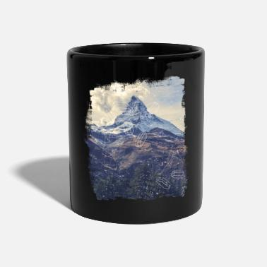 Mountains & Diamonds - Taza de un color