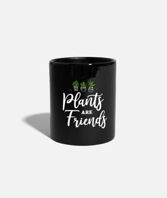 Nature Mugs & Drinkware - Plants are Friends Plants are Friends - Mug black