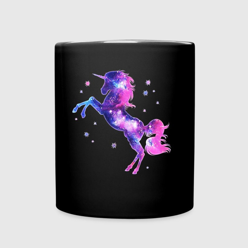 Unicorn stars, galaxy, space, horse, fantasy,  - Full Colour Mug