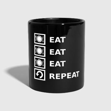 Eat Eat Eat Repeat - Full Colour Mug