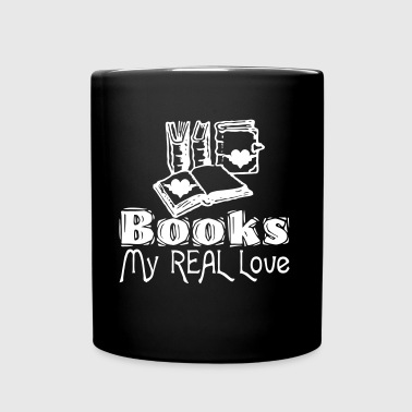 Books - My Real Love - Tasse einfarbig