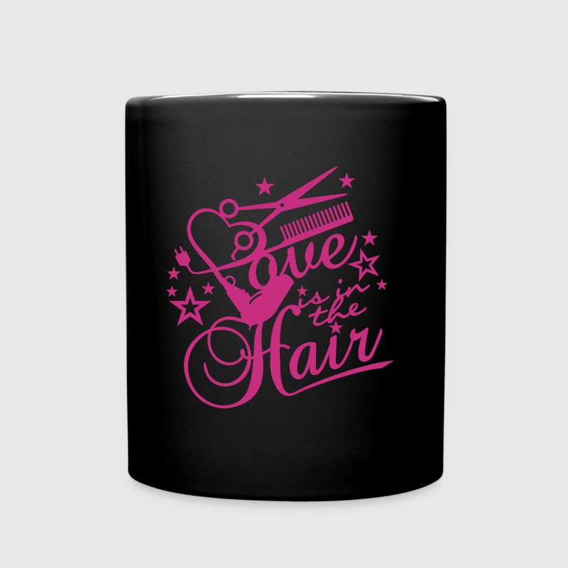 Love is in the hair (B, 1c) - Tasse einfarbig