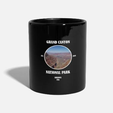 Geografi Grand Canyon National Park Arizona Las Vegas USA - Ensfarvet krus