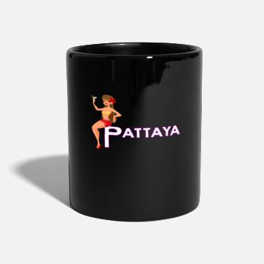 Thailandia Idea regalo fan Pattaya Thailandia - Tazza monocolore