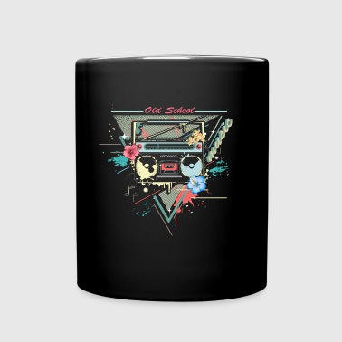 Ghettoblaster retro graffiti - Full Colour Mug