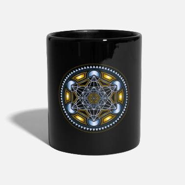Flower METATRONS CUBE, FLOWER OF LIFE, SPIRITUALITY - Mug