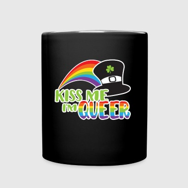 Kiss Me I'm Queer LGBT - Full Colour Mug