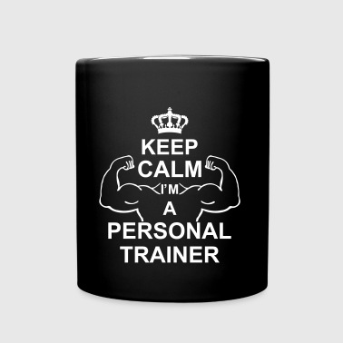 keep_calm_i'm_a_personal_trainer_g1 - Tazza monocolore