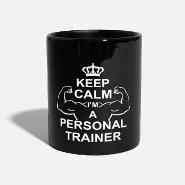 Bodybuilding keep_calm_i'm_a_personal_trainer_g1 - Tazza monocolore