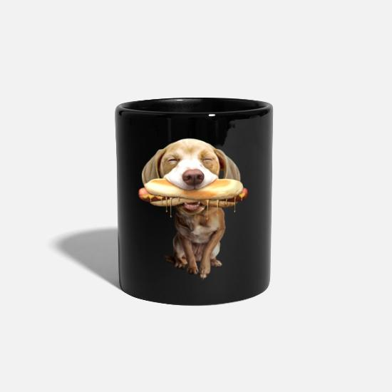 Cooking Mugs & Drinkware - HOTDOG - Mug black