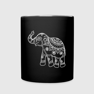Decorated elephant - Full Colour Mug