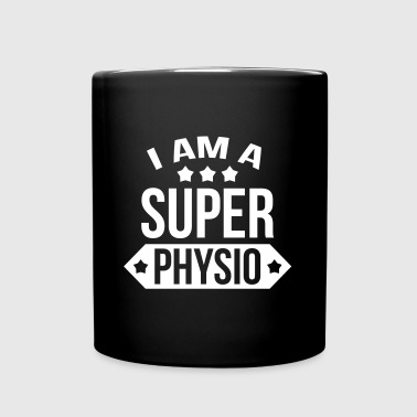 I am a Super Physio - Ensfarvet krus
