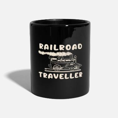 Travel Error Railroad Traveler - railroad traveler - Mug