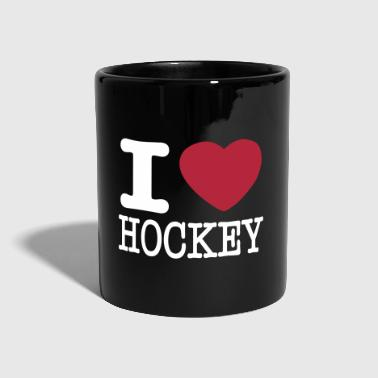 i love hockey / I heart hockey - Full Colour Mug