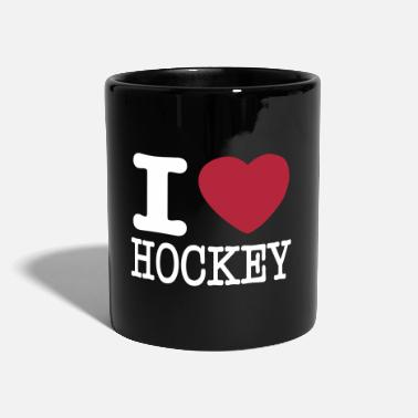 I Love Hockey i love hockey / I heart hockey - Tasse einfarbig