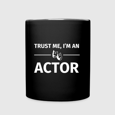 Trust me I'm an Actor - Taza de un color