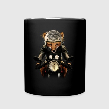 Fox Biker - Full Colour Mug