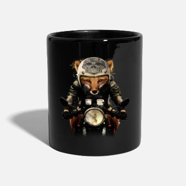 Biker Fox Biker - Full Colour Mug