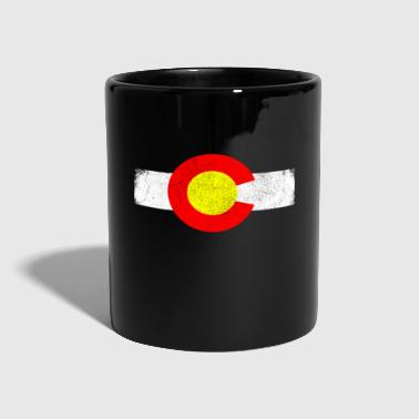 State Colorado state in the western United States - Full Colour Mug