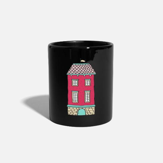 Love Mugs & Drinkware - House - Mug black